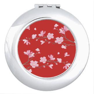 Miroirs De Voyage Fleurs de cerisier - rRed