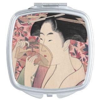Miroirs De Voyage La beauté orientale, Kushi par Kitagawa Utamaro