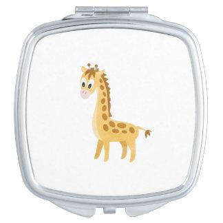 Miroirs De Voyage Ma petite girafe