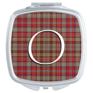 Miroirs De Voyage Plaid de tartan écossais d'Ogilvie Ogilvy de clan