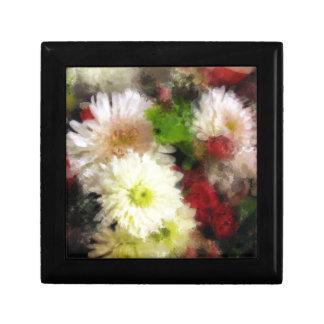 Miroitement floral boîte à souvenirs