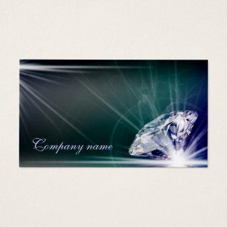 Miroiter le carte de visite de bijoutier de