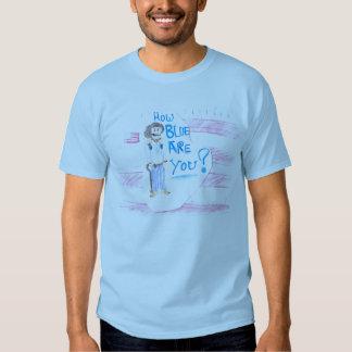 MIRV combien le bleu sont vous ? T-shirts