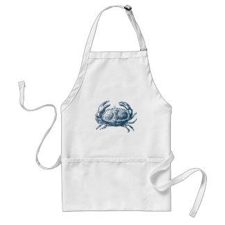 Miscellaneous - Blue Vintage: Crab Tablier