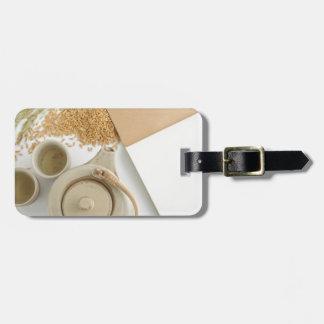 Miscellaneous - Rice Tea Patterns Five Étiquettes Bagages