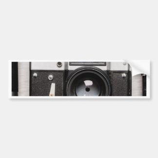 Miscellaneous - Vintage Camera Patterns Three Autocollant Pour Voiture