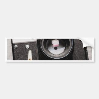 Miscellaneous - Vintage Camera Patterns Two Autocollant Pour Voiture