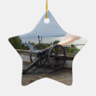 Mise à feu de Canon Ornement Étoile En Céramique
