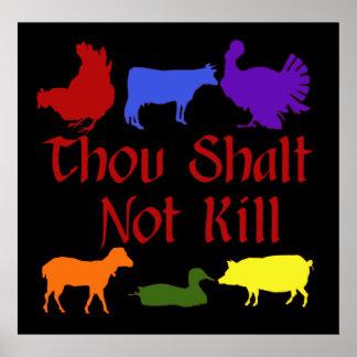 Mise à mort de Shalt de mille pas Posters