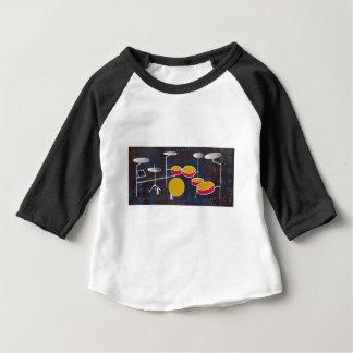 Mise en tambour de l'amusement ! t-shirt pour bébé