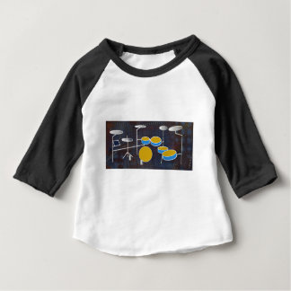Mise en tambour le long ! t-shirt pour bébé