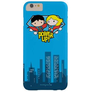 Mise sous tension de Chibi Superman et de Chibi Coque iPhone 6 Plus Barely There