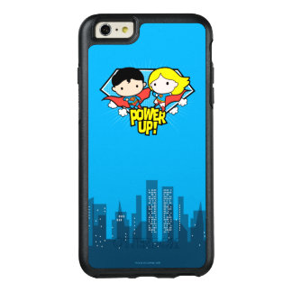Mise sous tension de Chibi Superman et de Chibi Coque OtterBox iPhone 6 Et 6s Plus