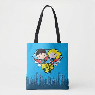 Mise sous tension de Chibi Superman et de Chibi Tote Bag