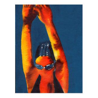 Missile à trajectoire plongeante 2011 carte postale
