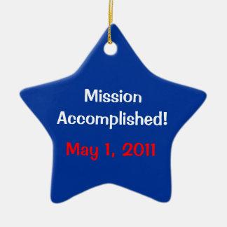 Mission accomplie ! Le 1er mai 2011 ornement