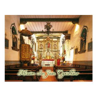 Mission San Juan Capistrano, la Californie Cartes Postales