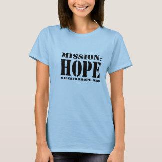 MISSION : T-shirt d'ESPOIR