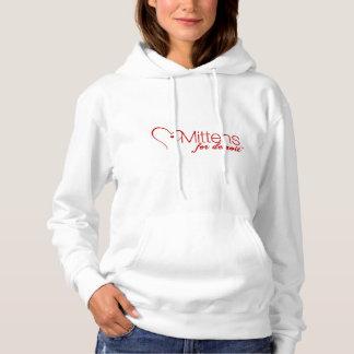 Mitaines pour le sweatshirt à capuchon de base de