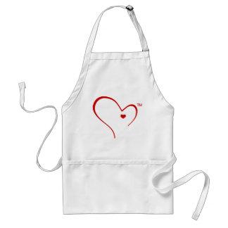 """Mitaines pour le tablier de """"logo de coeur"""" de"""