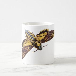Mite de faucon de la tête de mort mugs à café