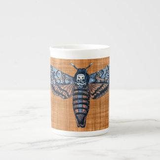 Mite de la tête de mort, aka mite d'atropo de sphi mug en porcelaine