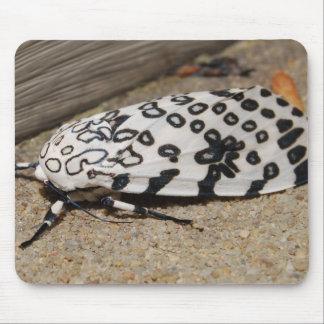 Mite géante de léopard tapis de souris