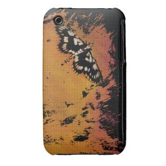 Mite sur une éclaboussure chaude chaude - cas de l coque iPhone 3