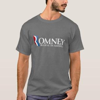 Mitt Romney pour le président 2012 T-shirt