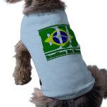 MIXED MARTIAL ART de drapeau de Jiu Jitsu de Brési T-shirt Pour Chien
