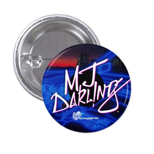 MJ Darl ! bouton de NG (Nightrider) Pin's