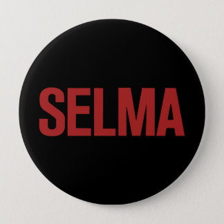 MLK Jour-Selma-Rouge sur le noir Pin's