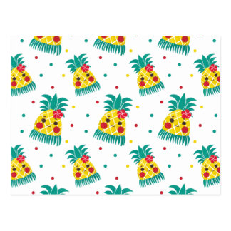Mlle Hawaiian Pineapple Carte Postale