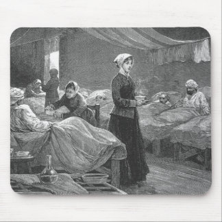 Mlle Nightingale dans l'hôpital de caserne Tapis De Souris