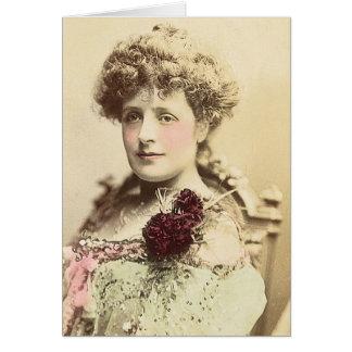 Mlle Phyllis Broughton Carte De Vœux