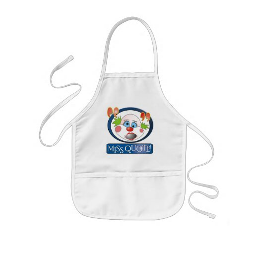 Mlle Quote Kids Apron Tablier