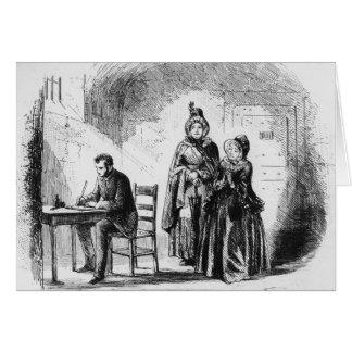 Mme Bagnet retourne de son expédition Cartes