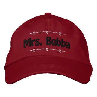 Mme Bubba Funny Redneck Nickname Casquette Brodée