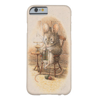 Mme Dormouse Knitting Coque Barely There iPhone 6