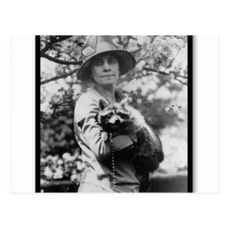 Mme Grace Coolidge Carte Postale