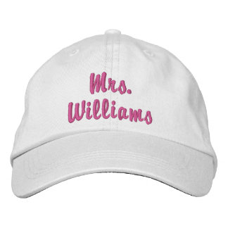Mme mignonne superbe Embroidered Hat Casquette Brodée