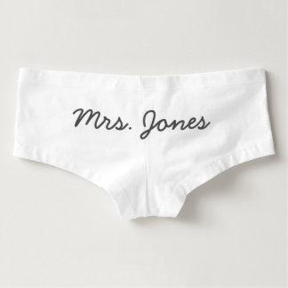 Mme Panties - personnaliser !
