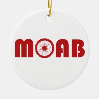 Moab (roue de vélo) ornement rond en céramique