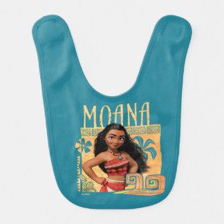 Moana | trouvent votre chemin bavoir de bébé