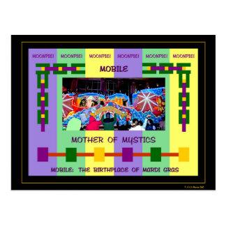 Mobile : Le lieu de naissance du mardi gras Cartes Postales