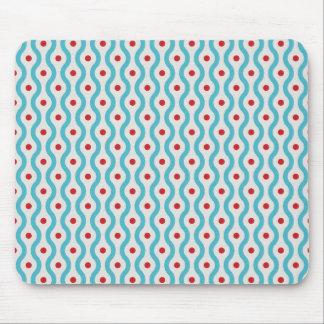 Mod peau de cas de conception graphique bleus et d tapis de souris