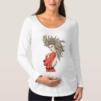 Mode 1 d'amour T-Shirt de maternité