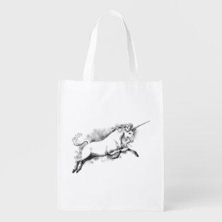 mode à la mode d'histoire d'art d'imaginaire de sac réutilisable d'épcierie