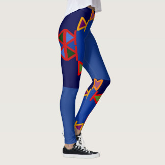 Mode d'amusement Guêtre-Femme-Multi-colorée Leggings