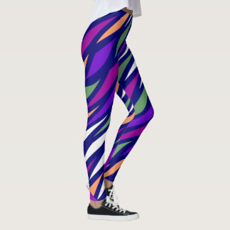 Mode d'amusement Guêtre-Femme-Multicolore Leggings